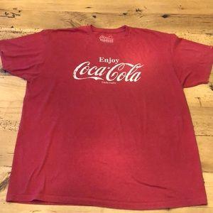 Classic Coca Cola Logo T-Shirt XXL